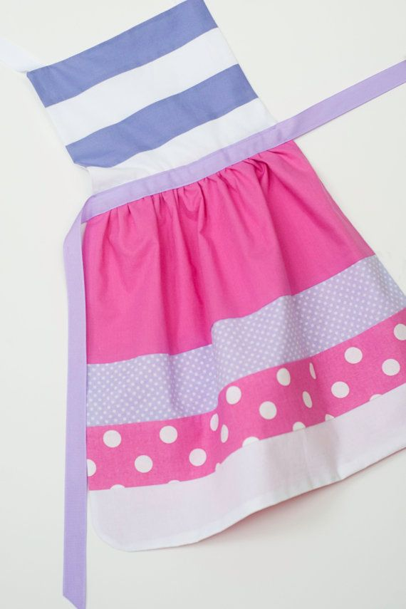 Disney Jr. Doc McStuffins dress up apron: 3 sizes fit toddlers and girls (Small 2-4 years, Medium 3-6 years, Large 5-8 years) on Etsy, $28.00