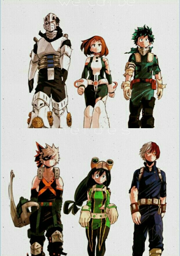 Boku no Hero Academia || we should genderbend this.