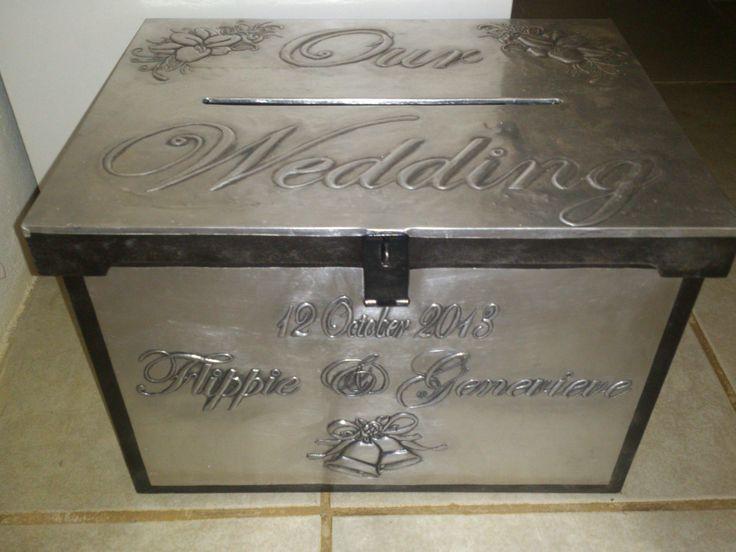 Wedding Envelope Box on Pinterest Card box for wedding, Wedding gift ...