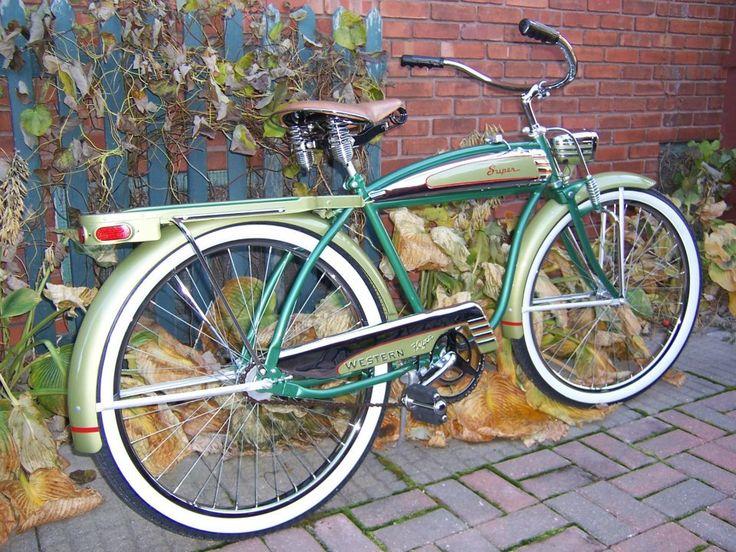 Boys 20 Inch Bike >> 1951 Western Flyer Super bicycle | Vintage Bicycles ...
