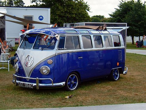Goodwood Festival of Speed 2006. #campervan #vwcampervan