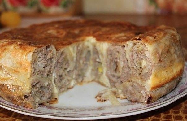 Пирог «Лаваш в заливке» | Самые вкусные кулинарные рецепты