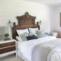 Modern Rustic Bench Makeover