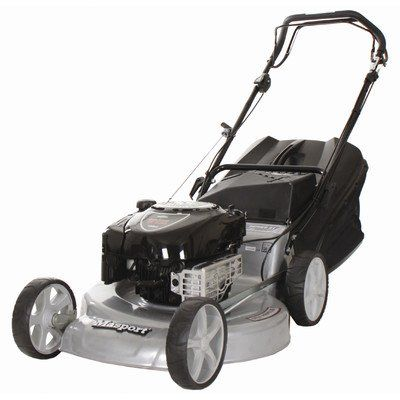 Masport Series 800 Self Propelled Mower  Single-handle height adjustmentThree cutting options: rear bag, side discharge or mulchAdjustable wheel bearings  http://industrialsupply.mobi/shop/masport-series-800-self-propelled-mower/