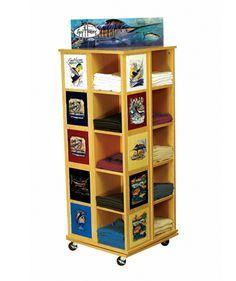 WD-4S-TSH T Shirt Retail Wood Display - The Best Retail Displays