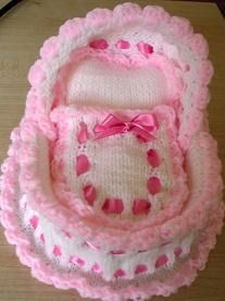 knitted crib pattern