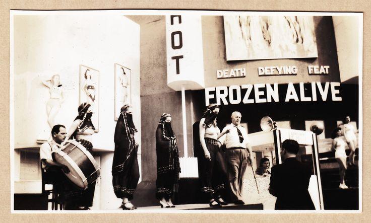 1939 New York World's Fair, Frozen Alive girls snapshot
