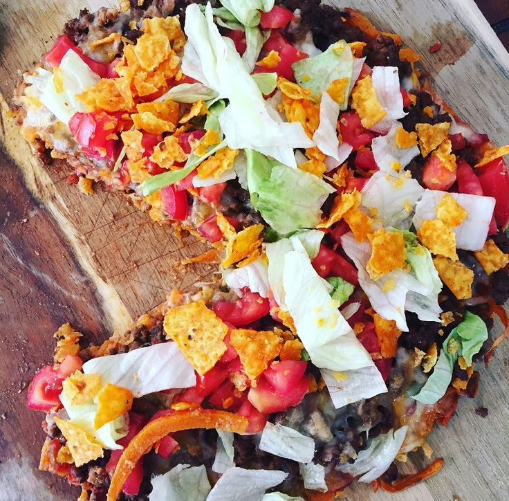 Spiralized Doritos Pizza