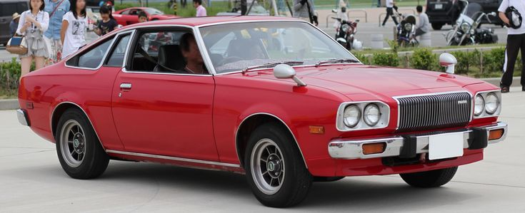 Red Mazda Cosmo