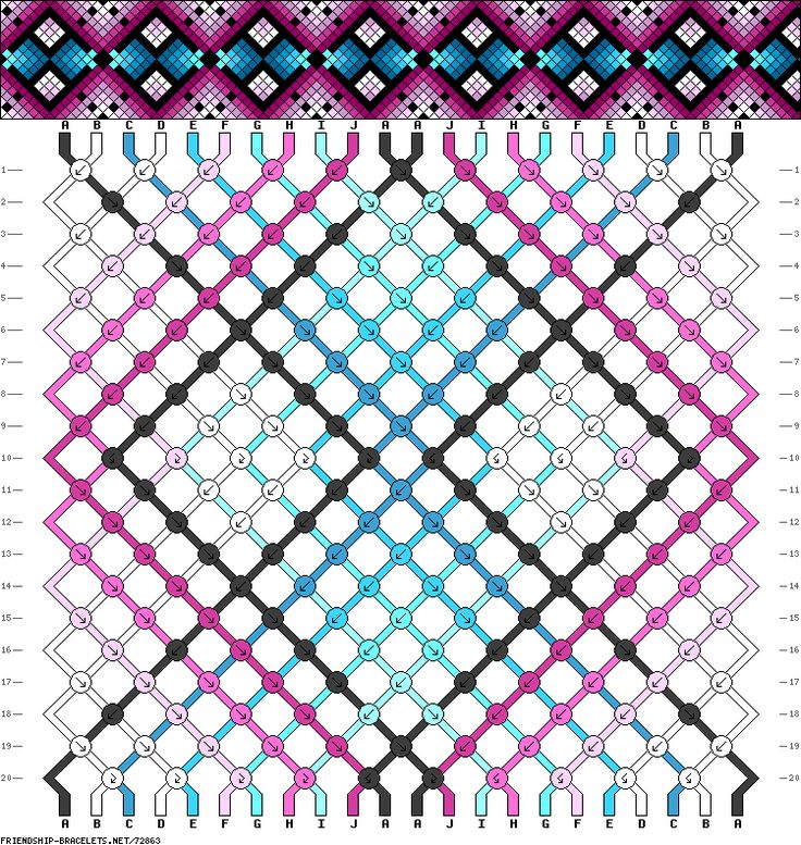 356 best images about friendship bracelets patterns on for How to weave a net with string