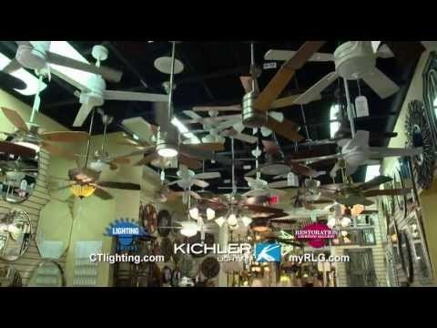 CT Lighting Centers has Kichler Ceiling Fans! With over 150 ceiling fans on display they & 24 best CT Lighting Mass Appeal images on Pinterest | Lighting ... azcodes.com