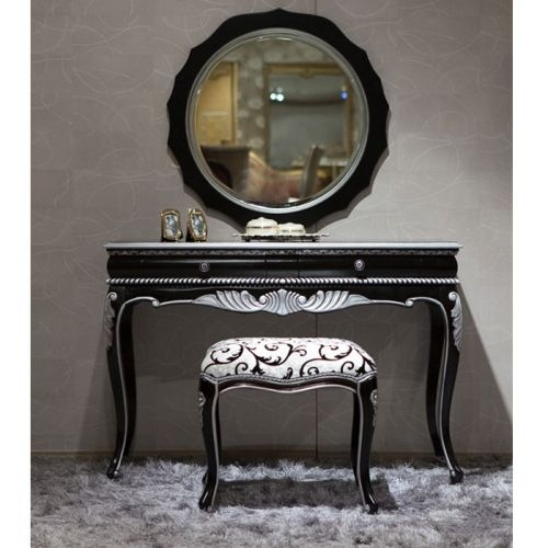 Bedroom Black Vanity Set | Antique Vanities | Country French