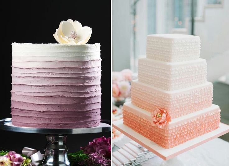 I love Ombre Cakes