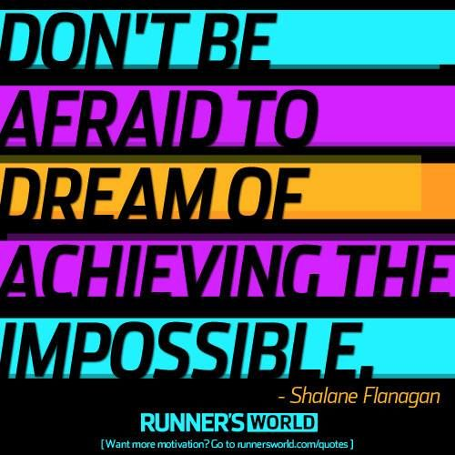 dont be afraid to dreamFit, Achievement, Body Motivation, Picture-Black Posters, Runners World, Marathons Motivation, Motivation Posters, Daily Motivation, Fun Quotes