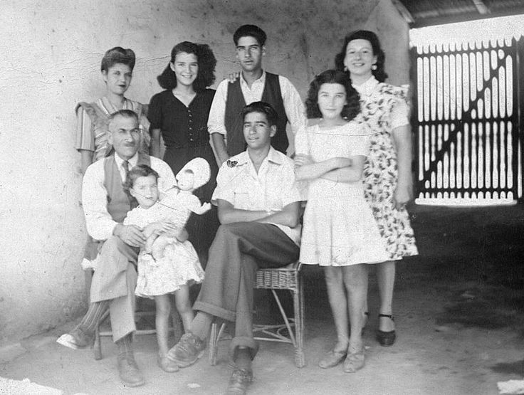 Parte de la familia Izaga