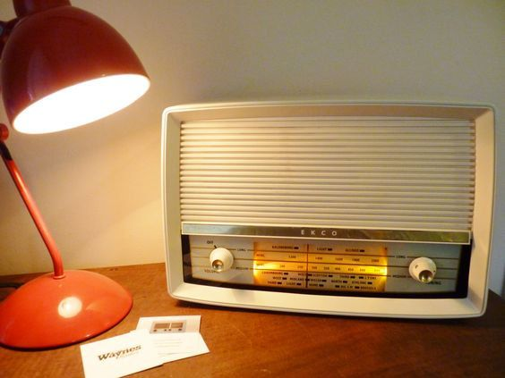 1959 Vintage radio modified to be used as an mp3, iPod, or personal DAB radio amplifier
