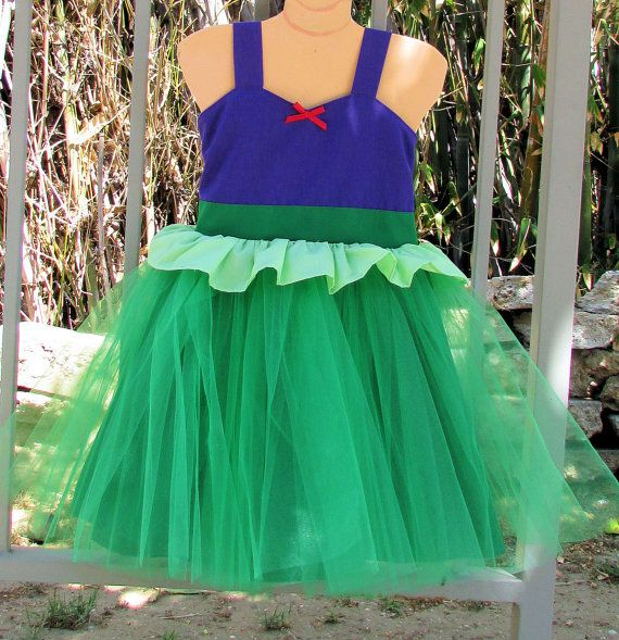 Mermaid dress  princess Tutu dress for birthday party dress  or portrait on Etsy