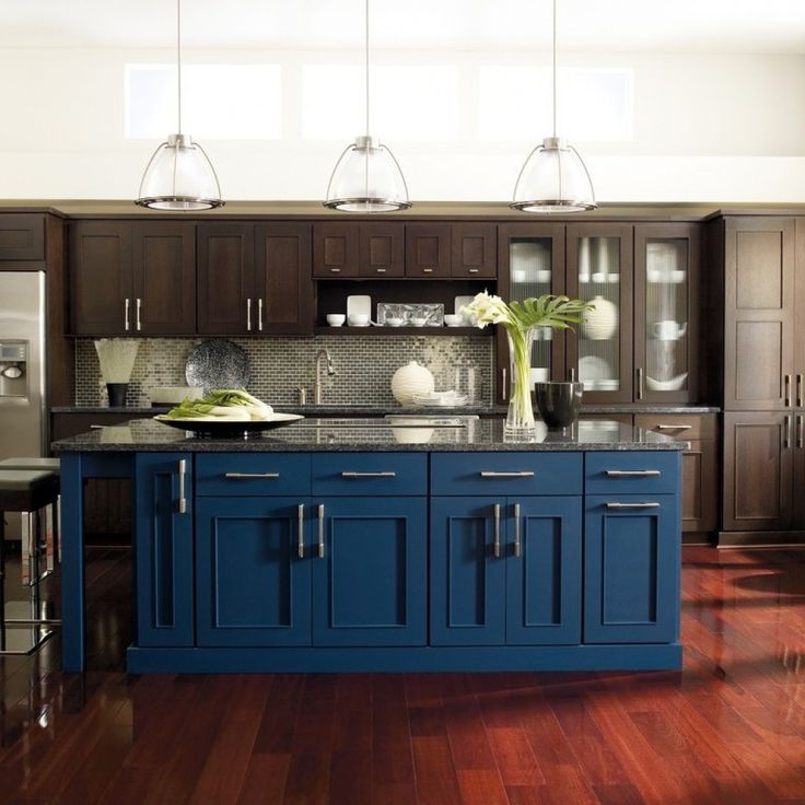 Best Brown Paint For Kitchen Cabinets: 10 Best Blue Kitchen Images On Pinterest