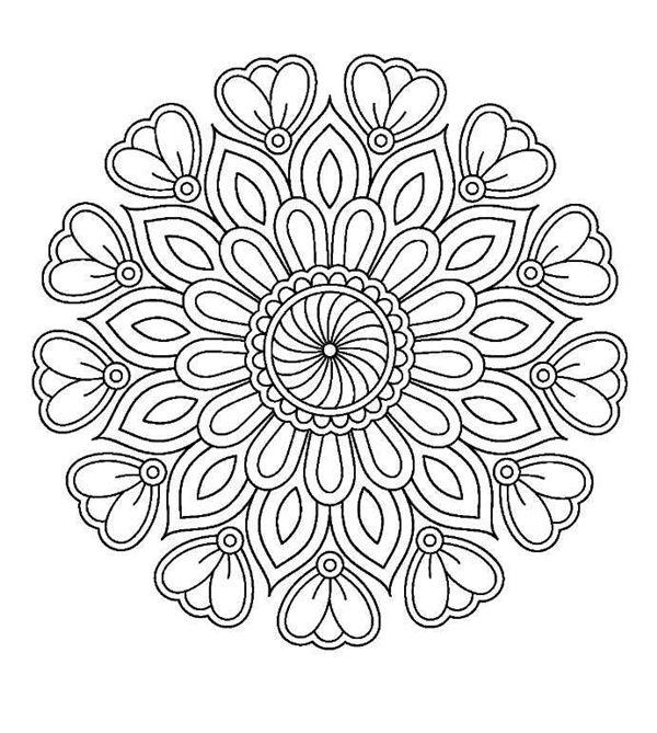 Mandala Colouring Download Tips