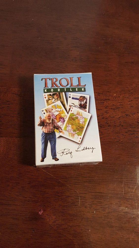 Troll Kortlek 54 Playing Cards Sealed Deck TrollMotives Fun Play Gift  #Unbranded #TrollMotives