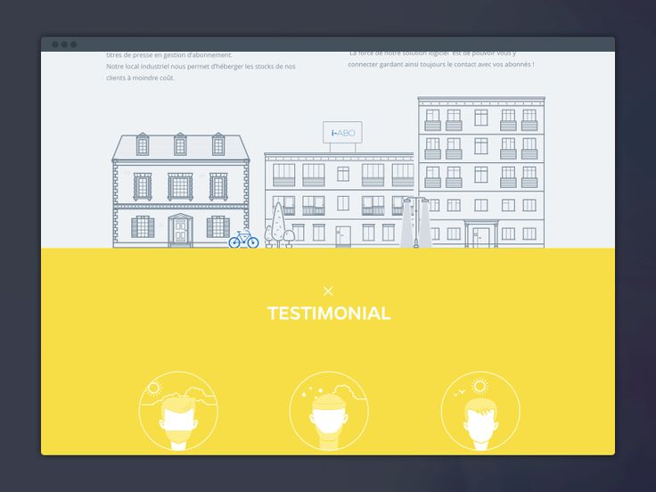 Landing Page by Barthelemy Chalvet