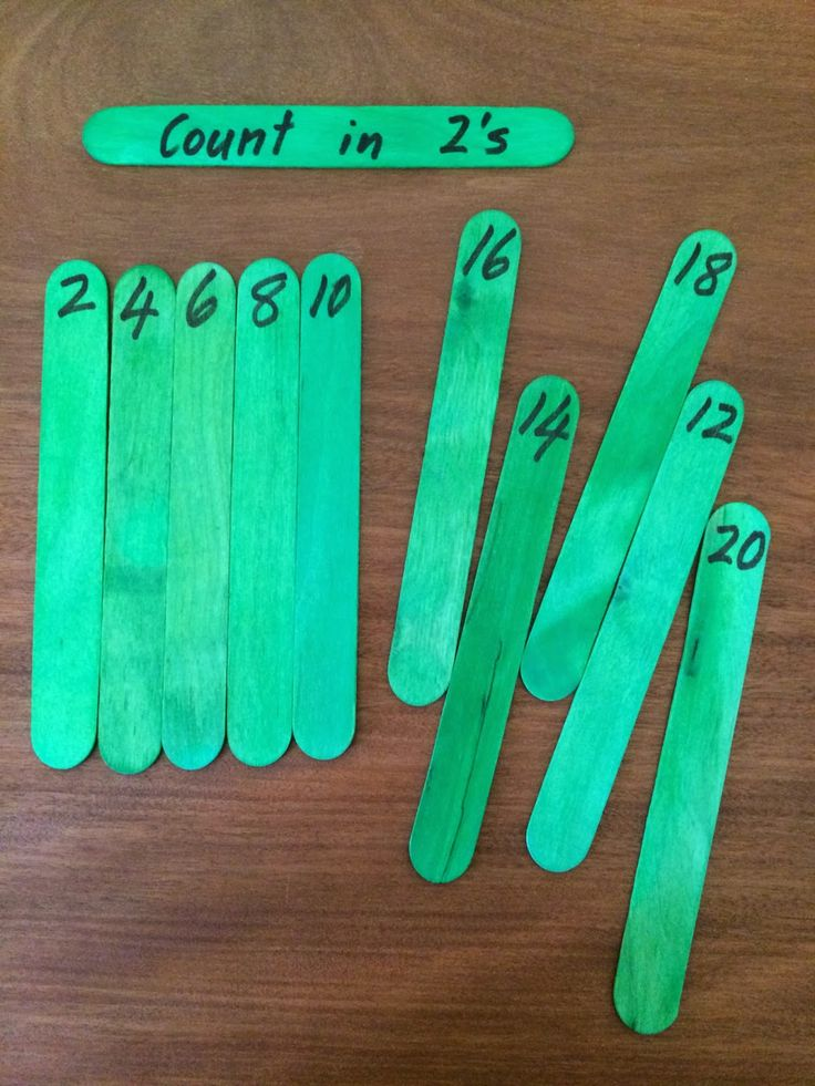 Fun Games 4 Learning: Counting Puzzles with Popsicle Sticks