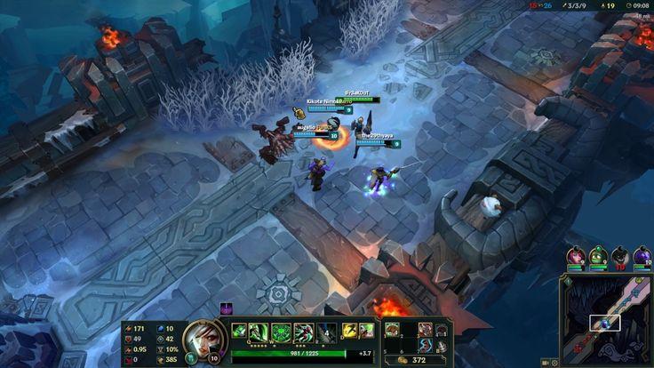League of Legends -Aram 5V5 Riven