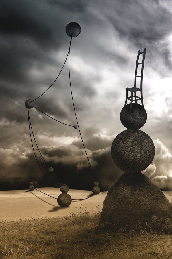 Beautiful and Dark Surreal Art (40 photos) | Deepak chopra ...  |Surreal Art Quotes