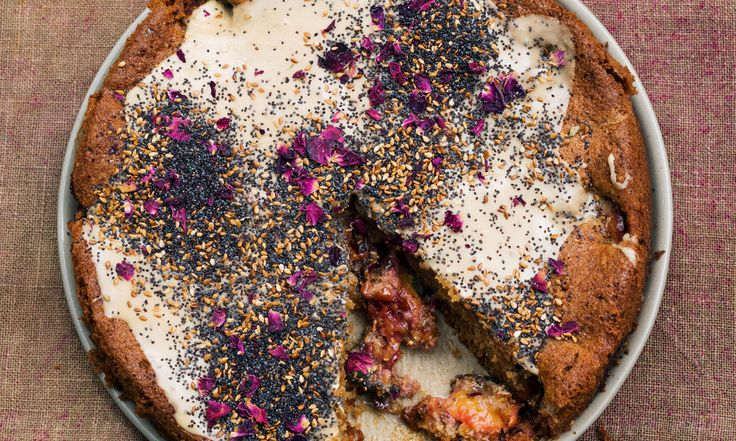 Nigel Slater's frosted plum cake for autumn