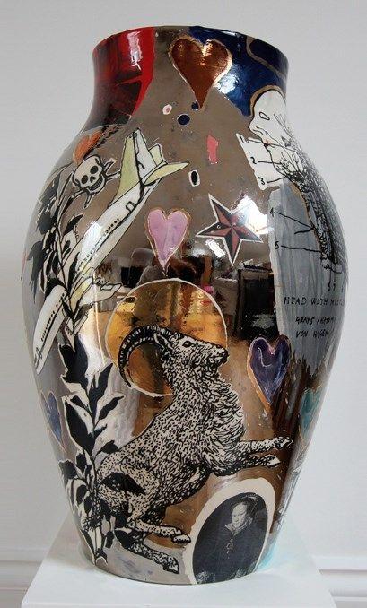 Potter Artist Grayson Perry (British: 1960) -