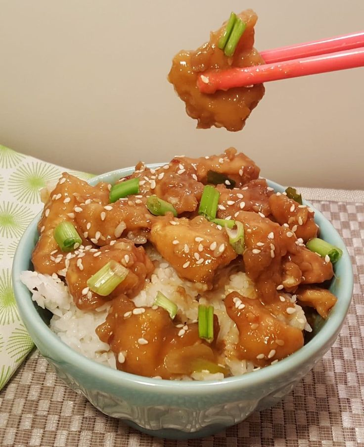 Pressure Cooker Chinese Take-Out General Tso's Chicken Image