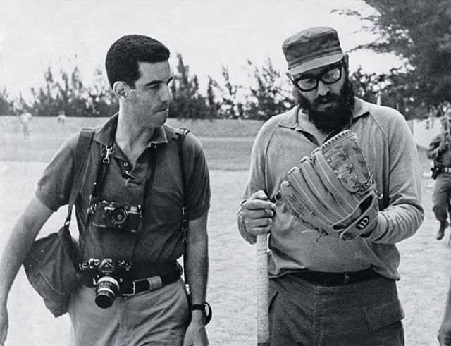 On #TheAList - the new @taschen book called Castro's Cuba. It's a book of photographs by journalist Lee Lockwood (pictured here with Castro), who had unprecedented access to his inner circle. Click the link in our bio to read the story. #Taschen #Cuba #Castro #castroscuba #books #photographs #leelockwood