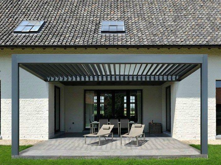 pergolato in alluminio con copertura scorrevole outdoor living