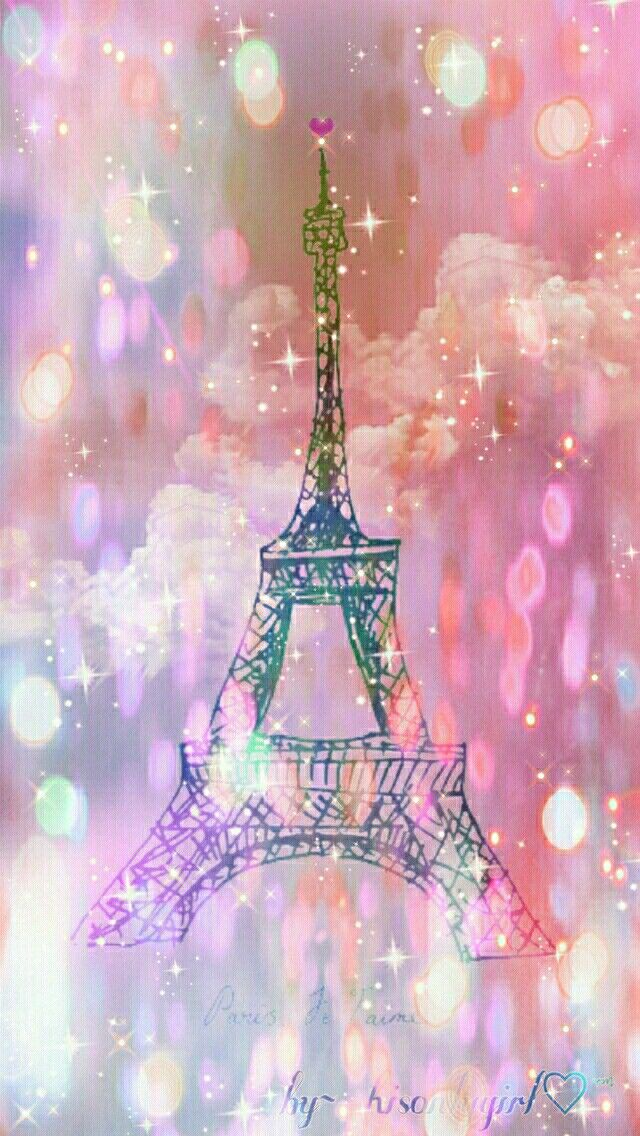 Eiffel Tower Galaxy Wallpaper I Created For The App CocoPPa