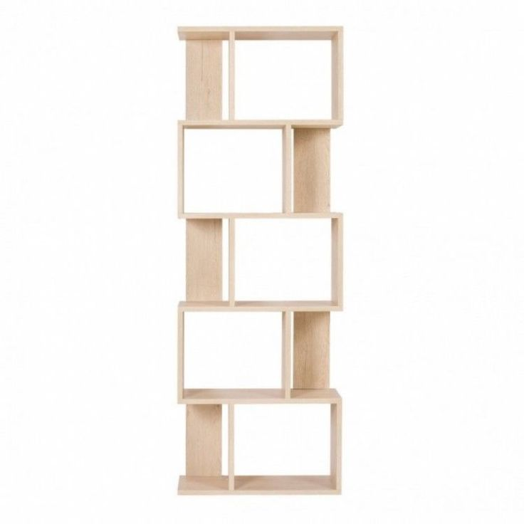 Modern Home Shelving Unit Display Storage Furniture Bookshelf 5 Tier Wood Office #ModernHomeShelvingUnit #Modern