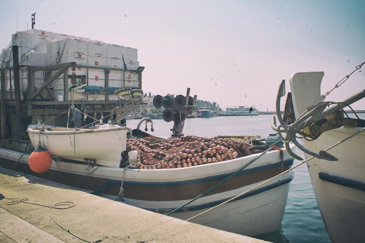 Fishing Boat, Kavala, Greece