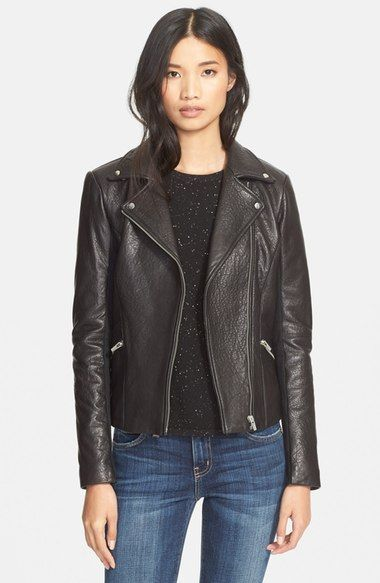 Veda'Dallas' Lambskin Leather Jacket available at #Nordstrom