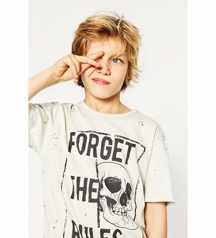 Image 1 of SKULL T-SHIRT from Zara