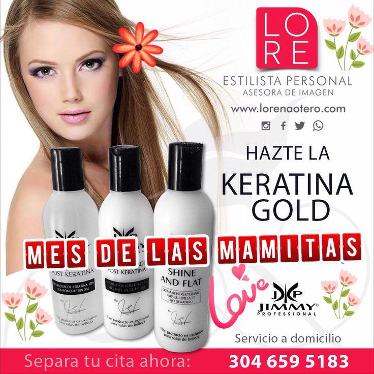 PROMO DE KERATINAS 2x1 $ 300.000 ( cabellos de largo regular )