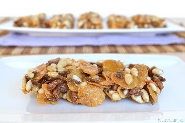 Barrette ai cereali, scopri la ricetta: http://www.misya.info/2014/07/03/barrette-ai-cereali.htm
