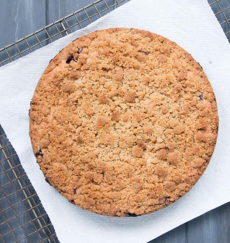 Blueberry crumb cake recipe sour cream coffee cake