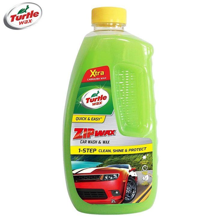 Turtle Wax T4066R Zip Wax Car Wash & Wax Clean Shine