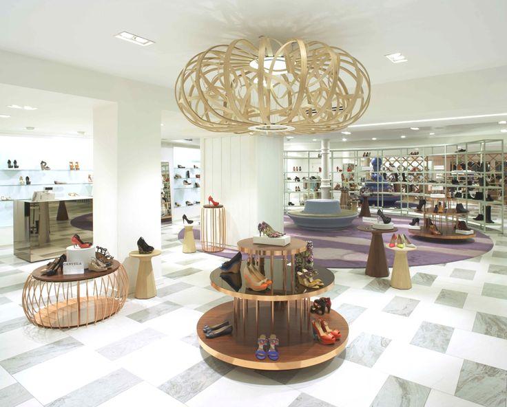 Shoe Concession, Arnotts Store, Dublin - http://www.adelto.co.uk/luxury-shoe-concession-at-dublins-arnotts-store