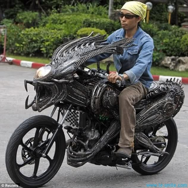 Alien Predator Motorcycle