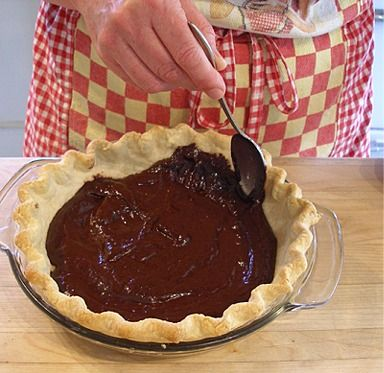 SARAH SAYS: I came up with the idea that the tart shell in the Easy Breezy Summer Cream Tart and Banana Cream Chocolate Ganache Pie Recipes should be lined with a thin layer of chocolate ganache instead of a thin layer of melted chocolate under the pastry cream, which the original recipe called for. Most pastry chefs use a thin layer of chocolate to serve as a moisture barrier to help keep the crust from becoming soggy when using pastry cream. It was my solution to the problem after a…