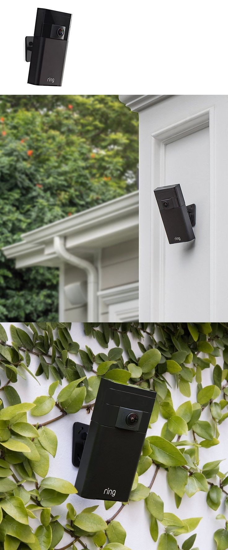 Security Cameras: Ring Stick Up Cam Wireless Outdoor Security Doorbell Camera With 2-Way Audio New -> BUY IT NOW ONLY: $159.99 on eBay!