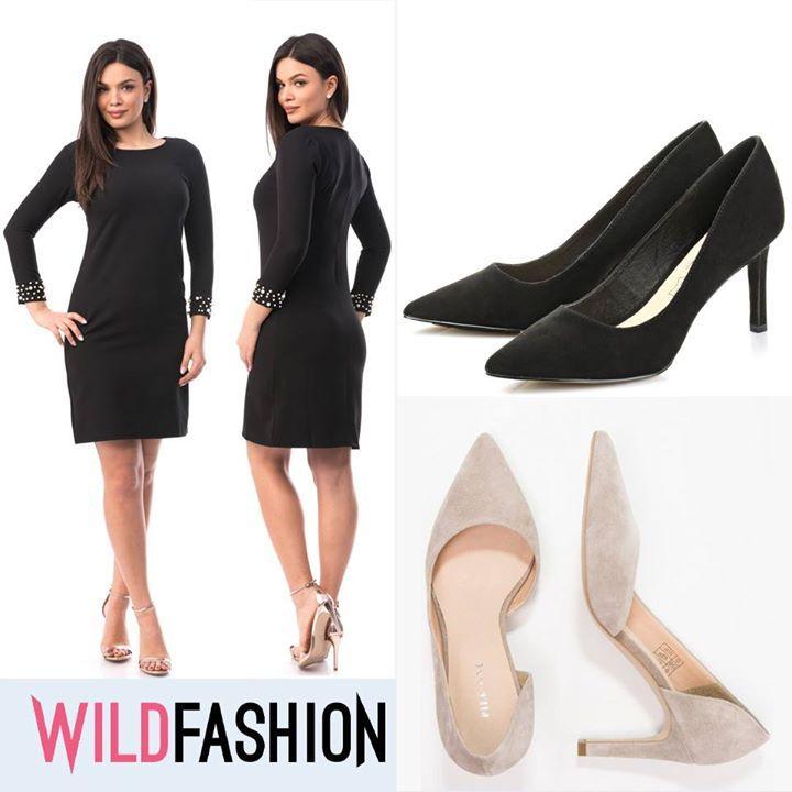 Ce pantofi ai purta la aceasta rochie office: gri sau negri? 🤔😍  rochia 👉 http://www.wildfashion.ro/n604-1-rochie-scurta-de-ocazie-cu-croiala-dreapta-si-maneci-lungi-accesorizate-cu-perle?utm_campaign=CE.1.C.V.18.&utm_medium=ORG.PC.social&utm_source=facebook      pantofii gri 👉 http://www.wildfashion.ro/ch2524-18-pantofi-eleganti-din-piele-intorsa-cu-varf-ascutit?utm_campaign=CE.1.C.V.18.&utm_medium=ORG.PC.social&utm_source=facebook  pantofii negri👉…