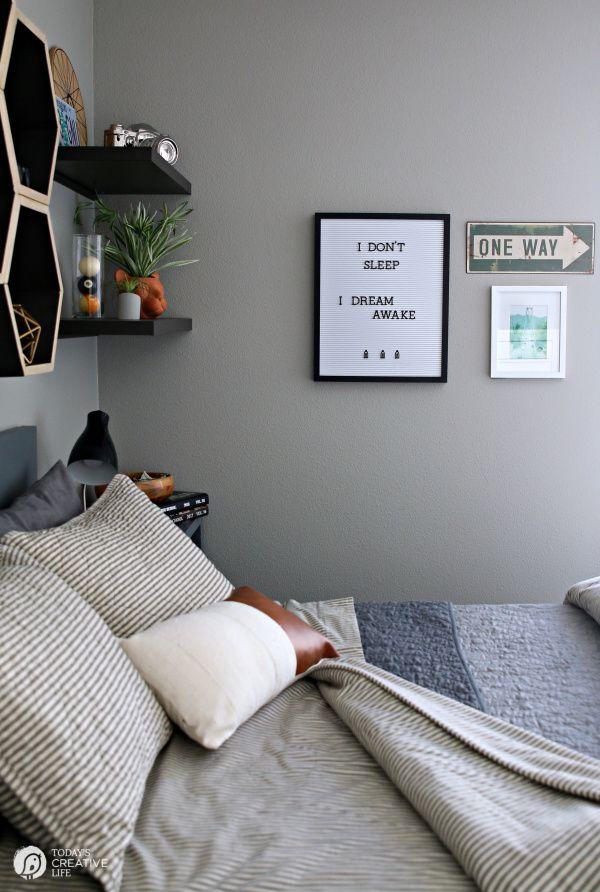 Bedroom Ideas For Young Men Mans Boys Wall Color Mens Decor