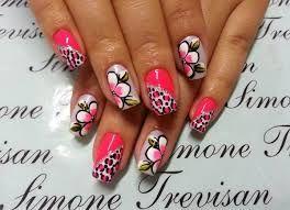 Resultado de imagen para ver imagenes de uñas de flores y colores bellos