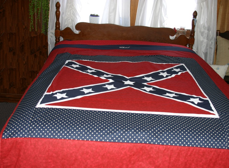 21 best Confederate flag images on Pinterest | Beans, Black and ... : rebel flag quilt pattern - Adamdwight.com